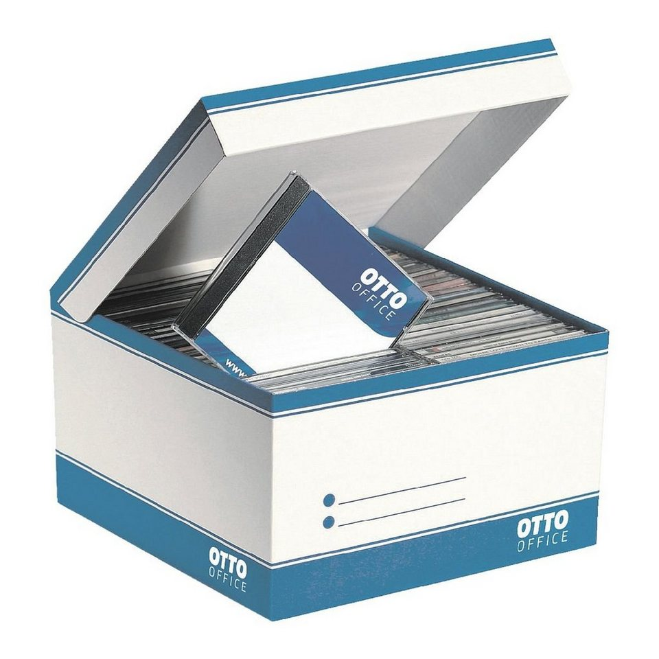 OTTO Office Standard 10er Pack CD-Archivboxen