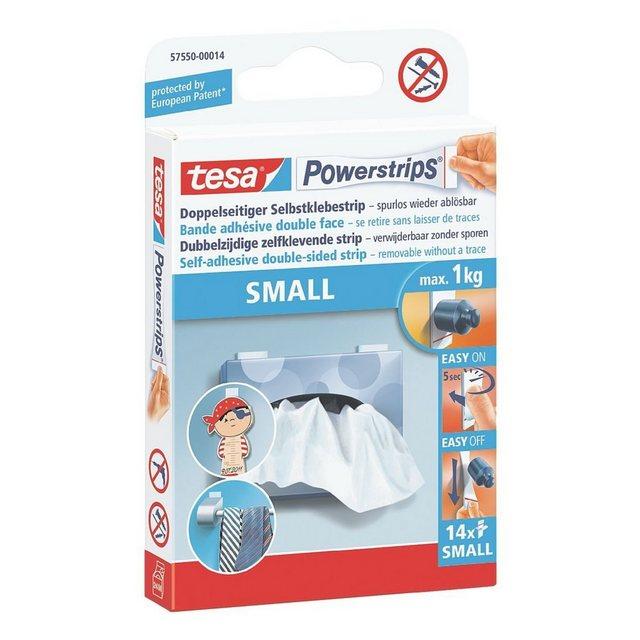 Tesa Powerstrips Small Weiß 14 Stück