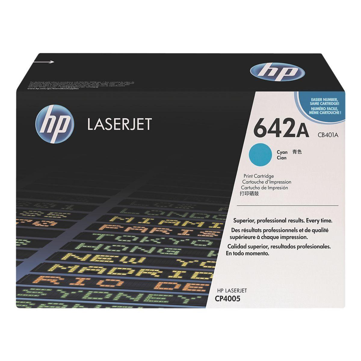 HP Druckkassette »HP CB401A« 642A