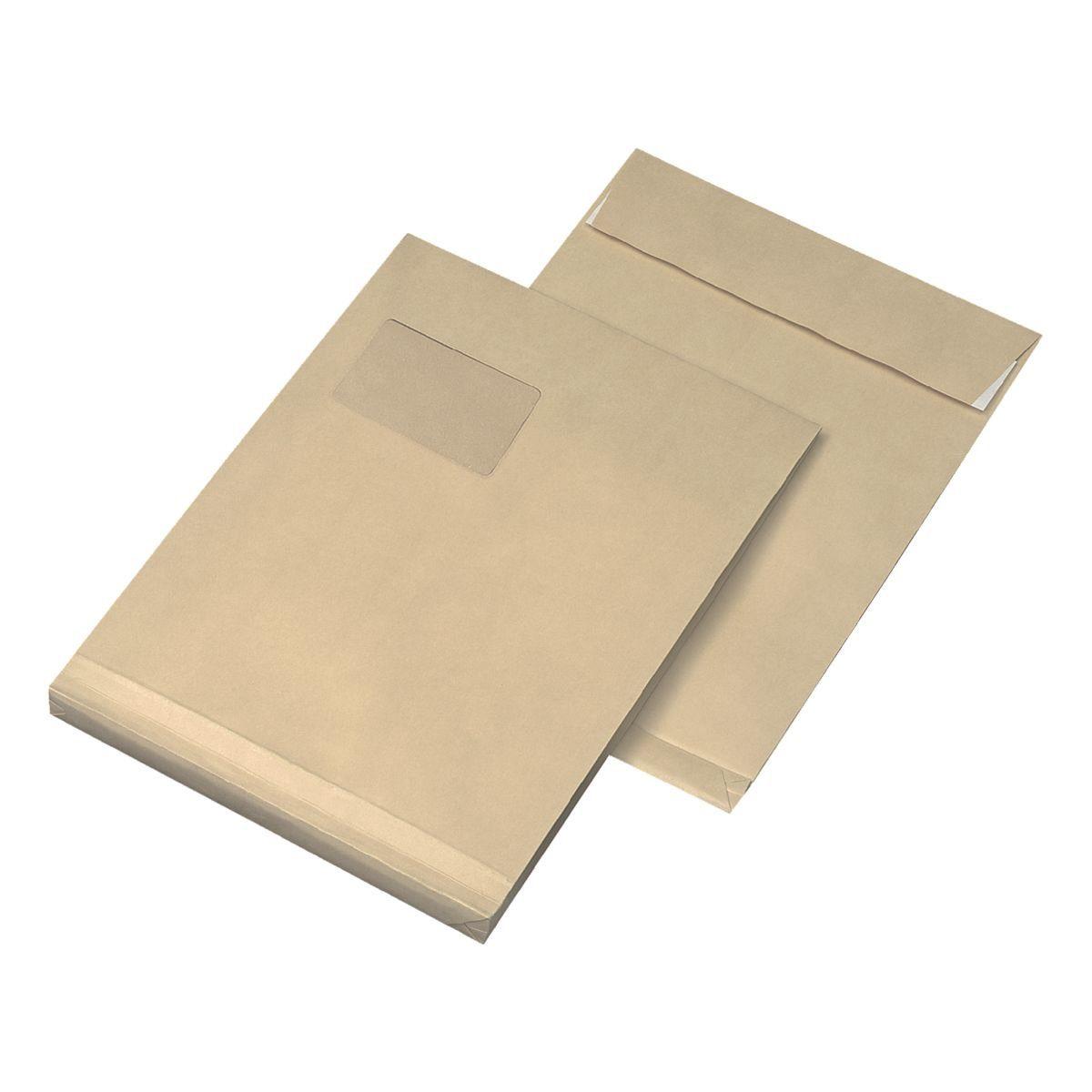 Mailmedia Faltentaschen mit Steh-/Klotzboden
