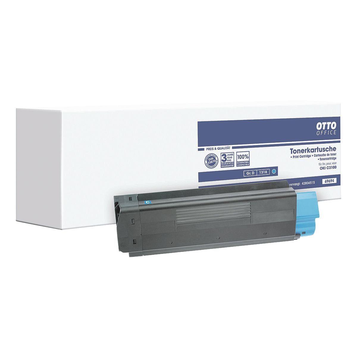 OTTO Office Standard Druckkassette ersetzt OKI »42804515«