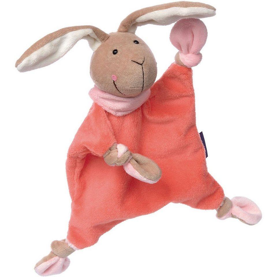 Sigikid Schnuffeltuch Hase, lachs Collection (41859) online kaufen
