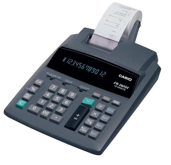 CASIO Druckender Tischrechner »FR-2650T«