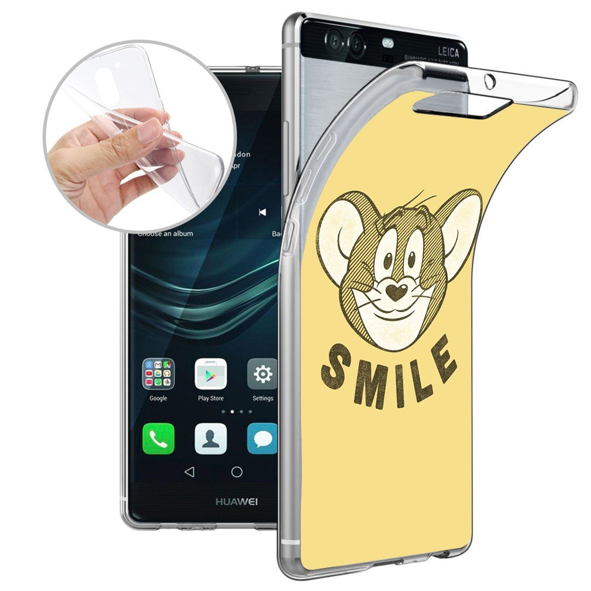 Finoo Smartphone-Hülle Huawei P9