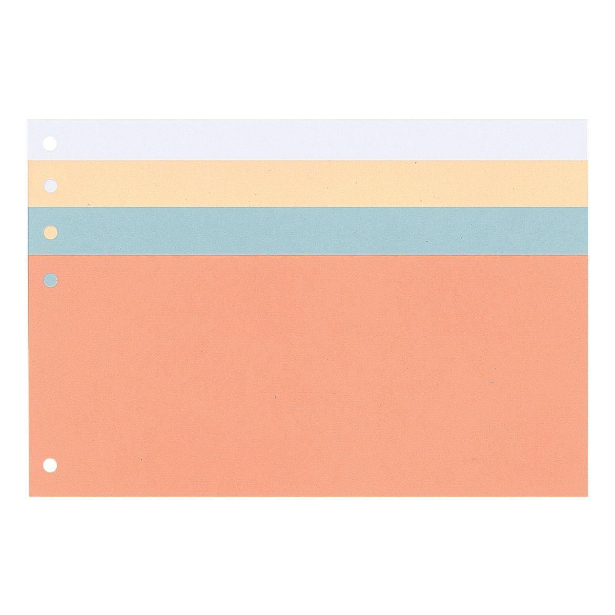 OTTOOFFICE NATURE Trennstreifen 100 Stück 4 Farben