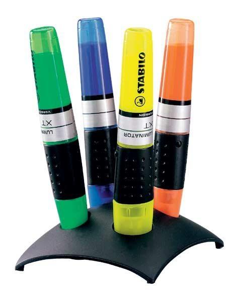 Stabilo 4er-Tischset Textmarker »Luminator®«