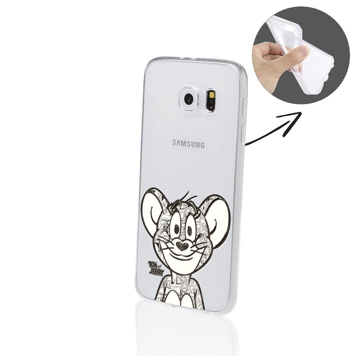 Finoo Smartphone-Hülle Samsung Galaxy S6 Edge