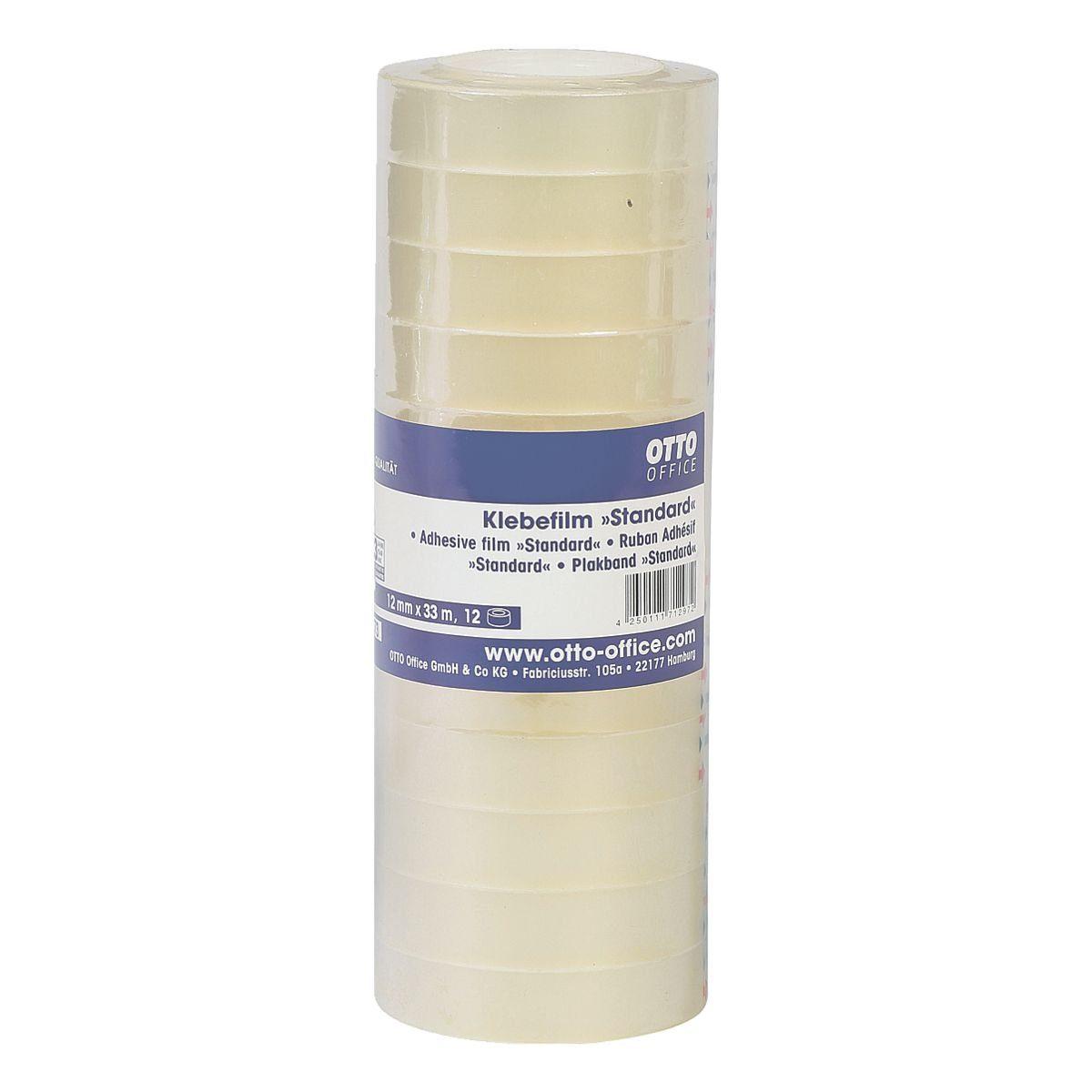 OTTOOFFICE STANDARD Klebeband transparent, 12 mm/33 m (B/L) »Standard«