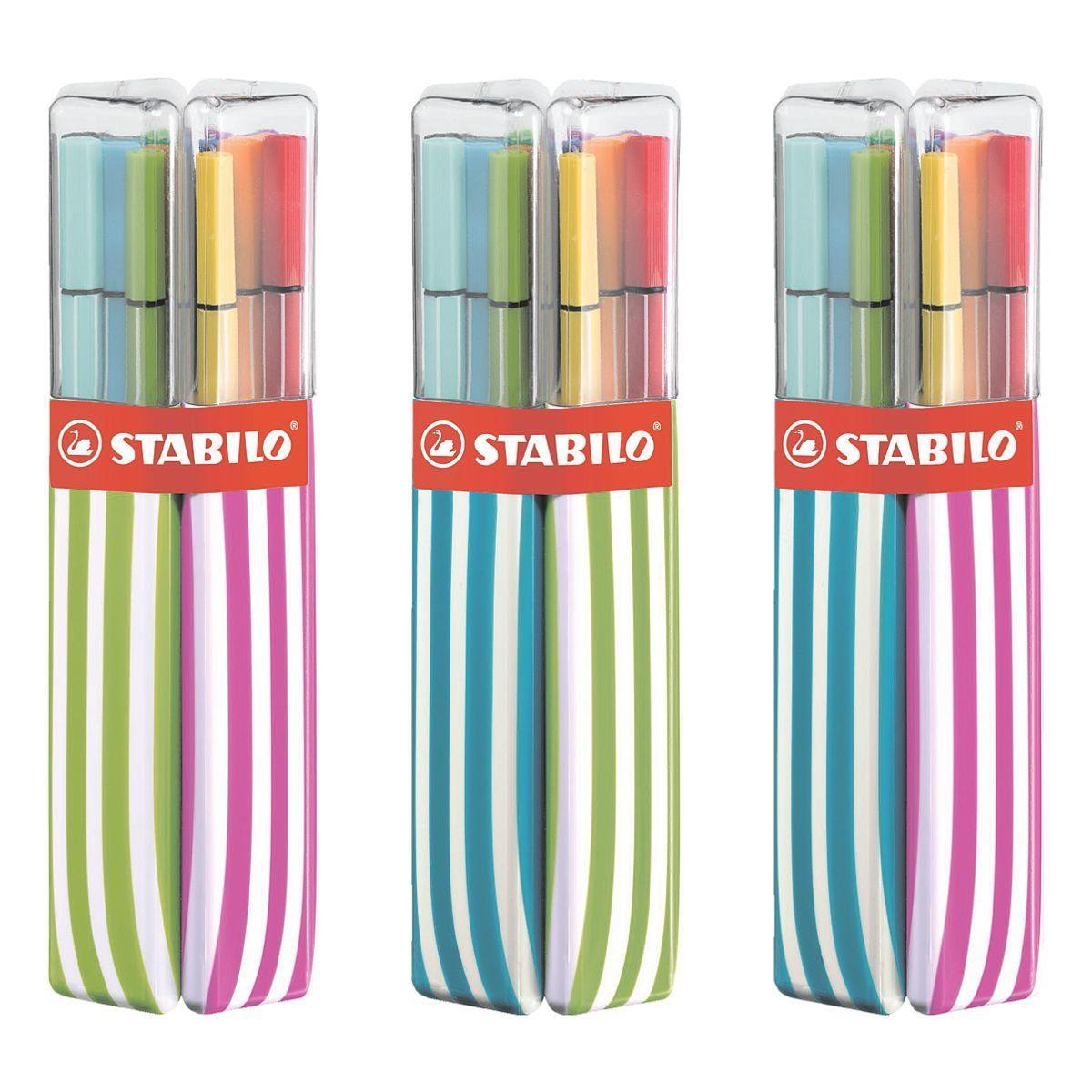 Stabilo 20er-Twin-Pack Faserschreiber »Pen 68«