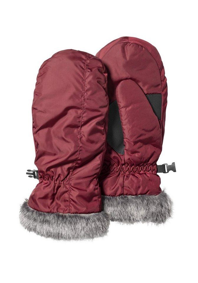 Eddie Bauer Lederhandschuhe Lodge Daunenfäustlinge   Accessoires > Handschuhe > Lederhandschuhe   Rot   Polyester   Eddie Bauer