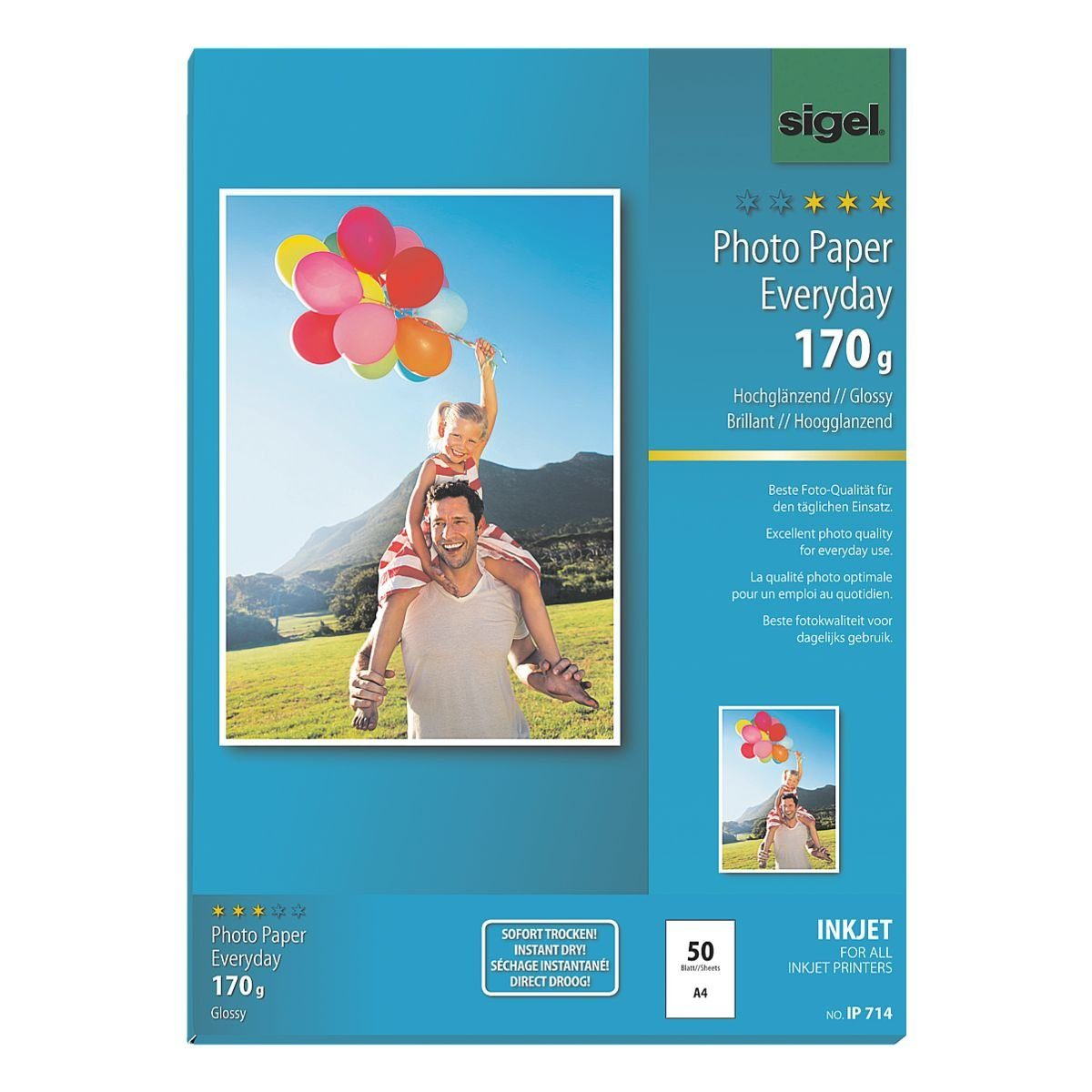 Sigel-Premium Foto Inkjet-Papier »Everyday Plus«