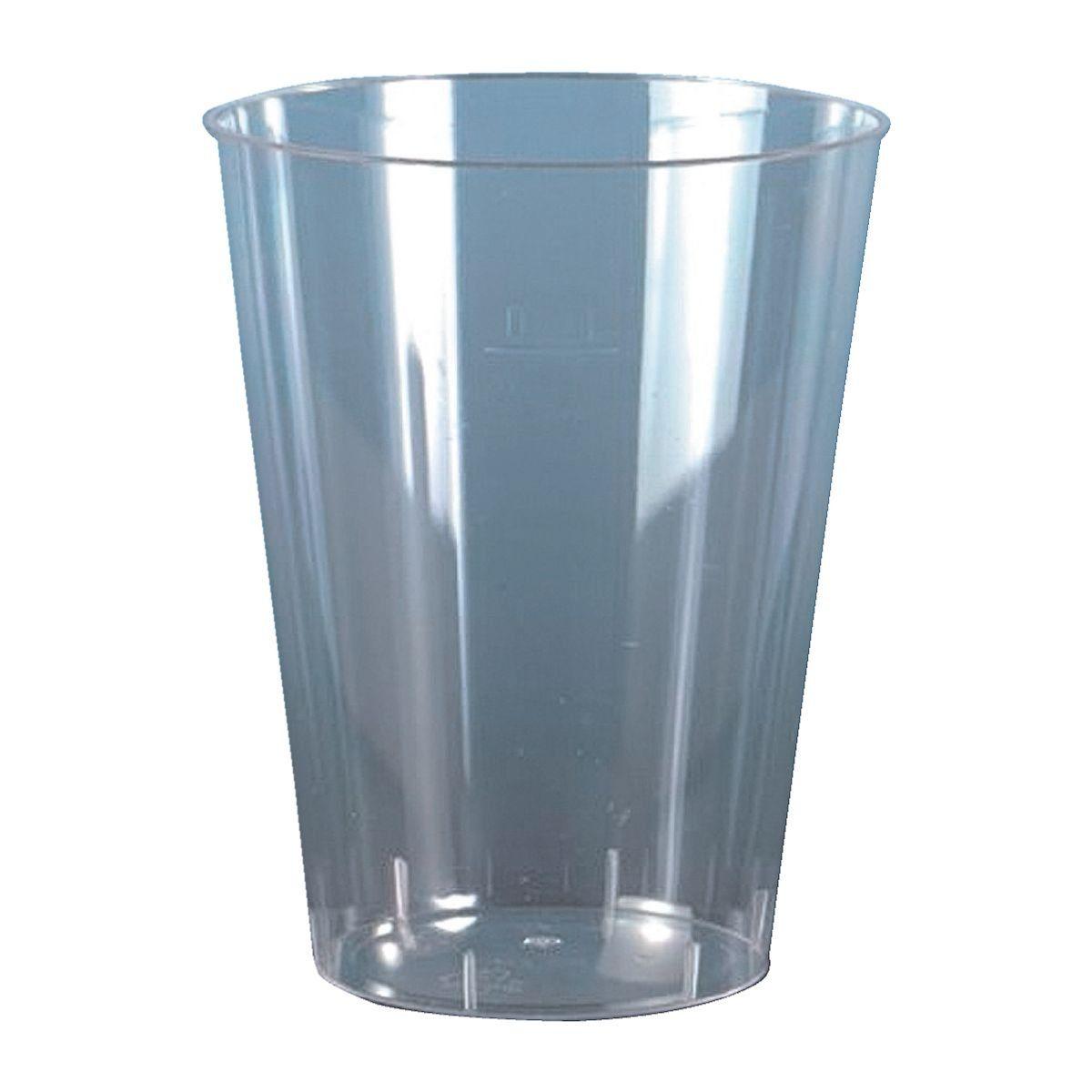 PAPSTAR Einweg-Trinkbecher 0,3L glasklar