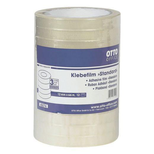 OTTOOFFICE STANDARD Klebeband transparent, 12 mm/66 m (B/L) »Standard«