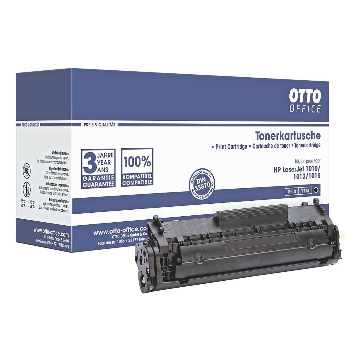 OTTO Office Standard Druckkassette ersetzt HP »Q2612A« Nr. 12A