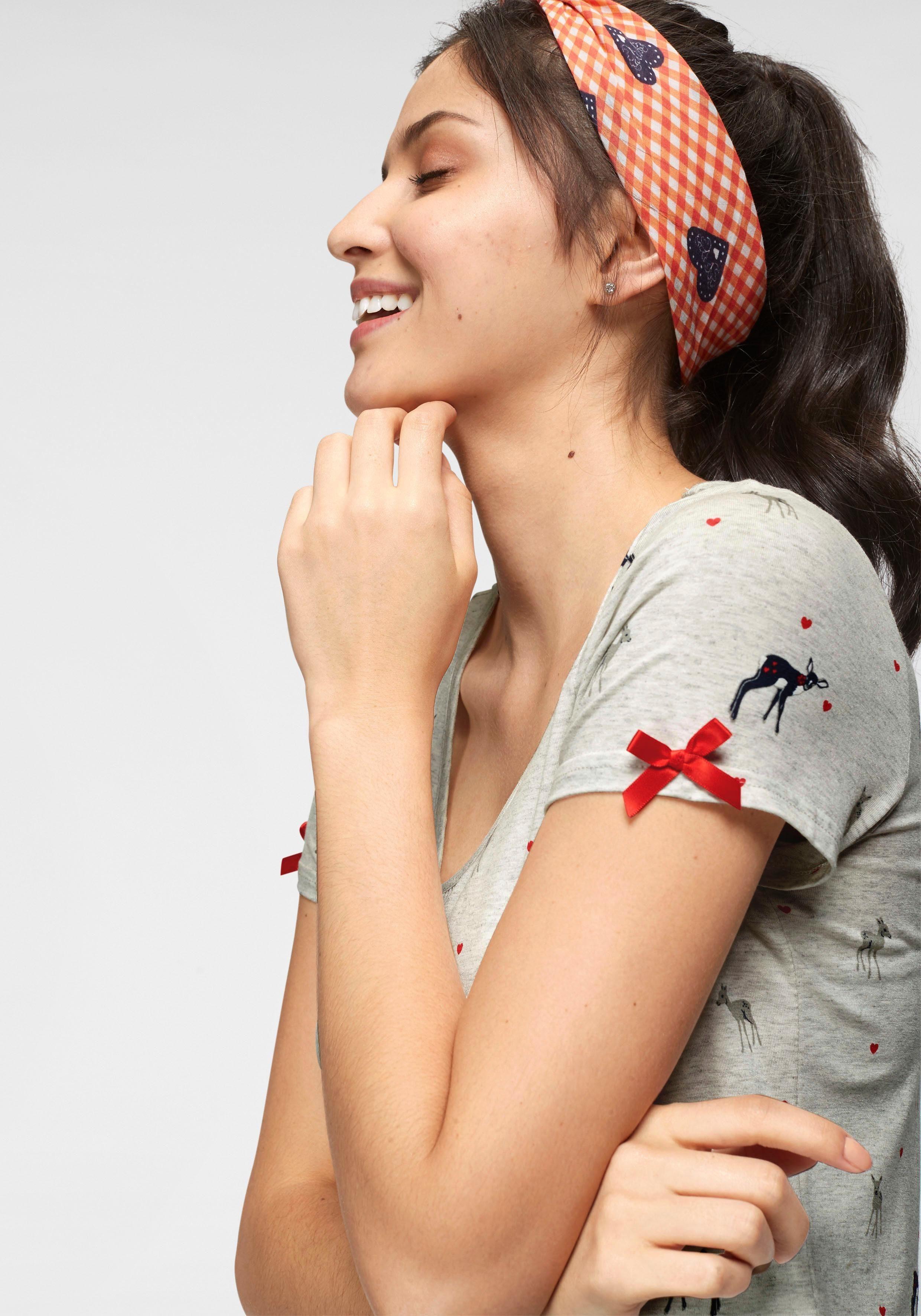 Süßem aufdruck Reh Mit T shirt Kaufen Kangaroos DYeEH2IW9