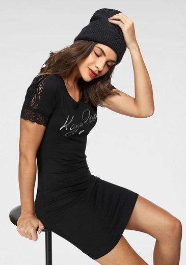 KangaROOS Shirtkleid mit glänzendem Druck