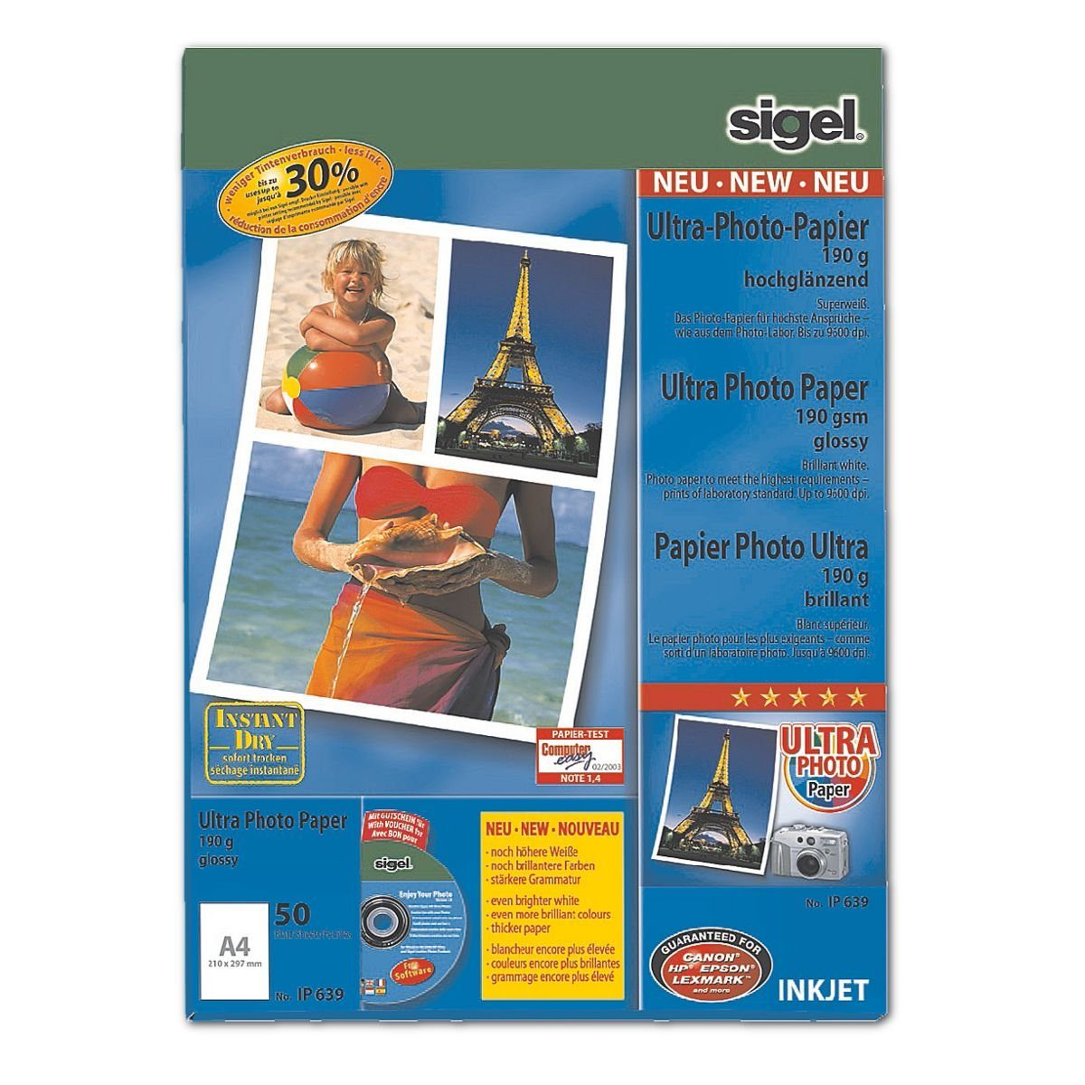 Sigel-Premium Foto Inkjet-Papier »Ultra«