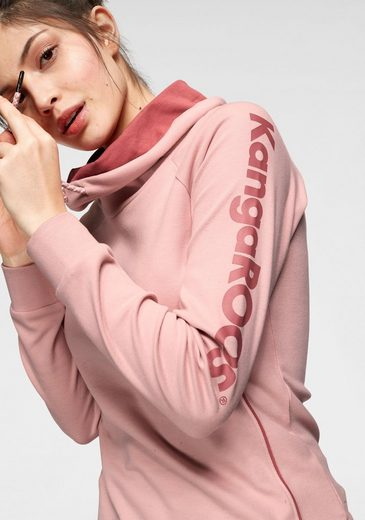 KangaROOS Sweatshirt mit kontrastfarbener Kordel