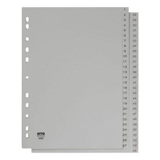 OTTOOFFICE STANDARD Kunststoffregister 1-54 A4