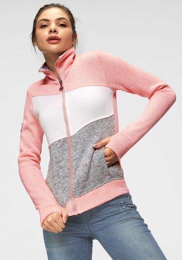 KangaROOS Sweater mit schützendem Stehkragen