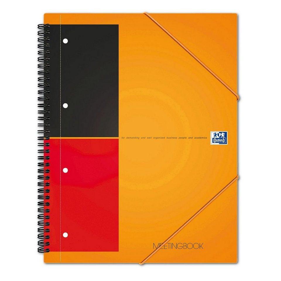 Oxford International Collegeblock »Meetingbook«