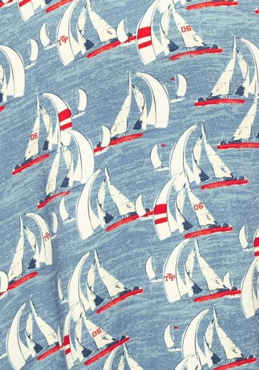Team Wickelkleid Aufwendig Maritimen Polo Tailor Tom Print Im qOwxtEzX4n