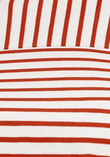 Mit Angesagten Streifen Rundhalsshirt Opus »siplak« EqHnxvWY