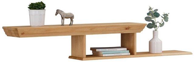 Küchenregale - Home affaire Wandregal »Eva«, aus massiver Kiefer, Breite 129,5 cm  - Onlineshop OTTO
