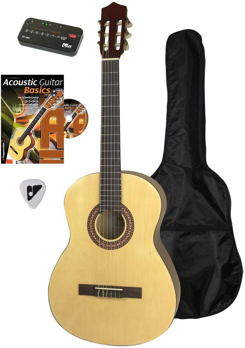 Voggenreiter Akustikgitarre »Akustikgitarren Set 4/4« 4/4, Komplettset