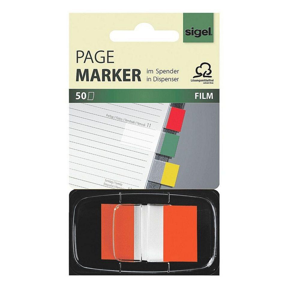 Sigel Haftmarker »Z-Marker« in orange
