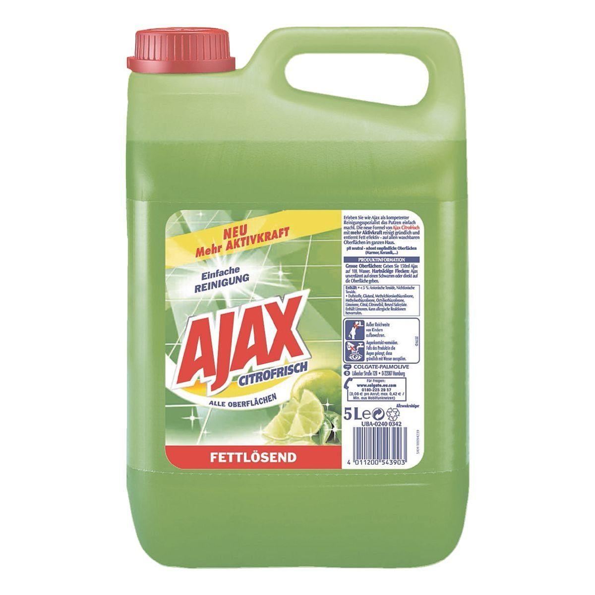 Allzweck-Reiniger »Ajax Citrofrisch«
