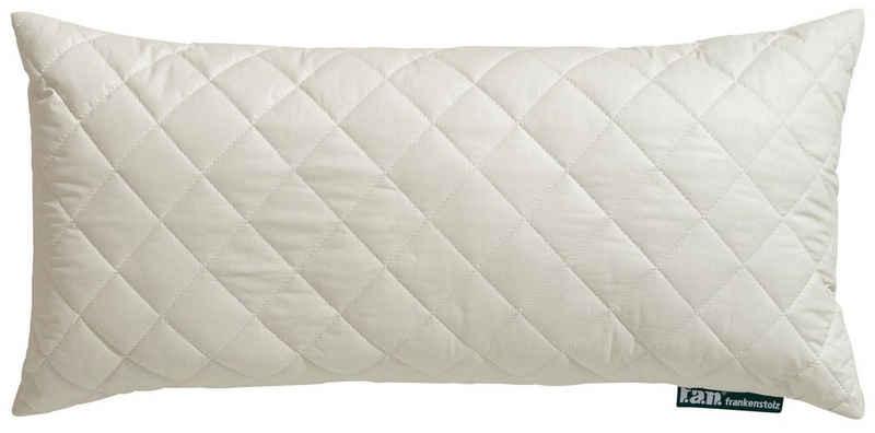 Naturfaserkissen, »Kamelhaar«, f.a.n. Schlafkomfort, Füllung: 97% Wolle, 3% sonst. Fasern, Bezug: 100% Baumwolle versteppt mit 97% Kamelhaar, 3% sonst. Fasern, (1-tlg), ideal für erholsamen und komfortablen Schlaf