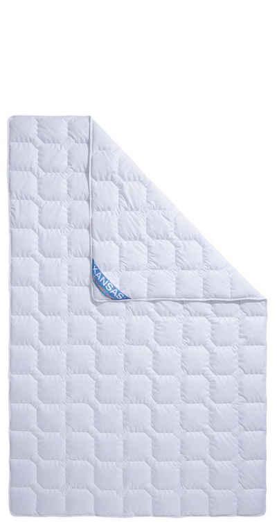 Baumwollbettdecke, »Kansas«, fan Schlafkomfort Exklusiv, Füllung: Baumwolle, Bezug: 100% Baumwolle, Naturfaser sowohl im Bezug als auch in der Füllung - kochfest bis 95 °C