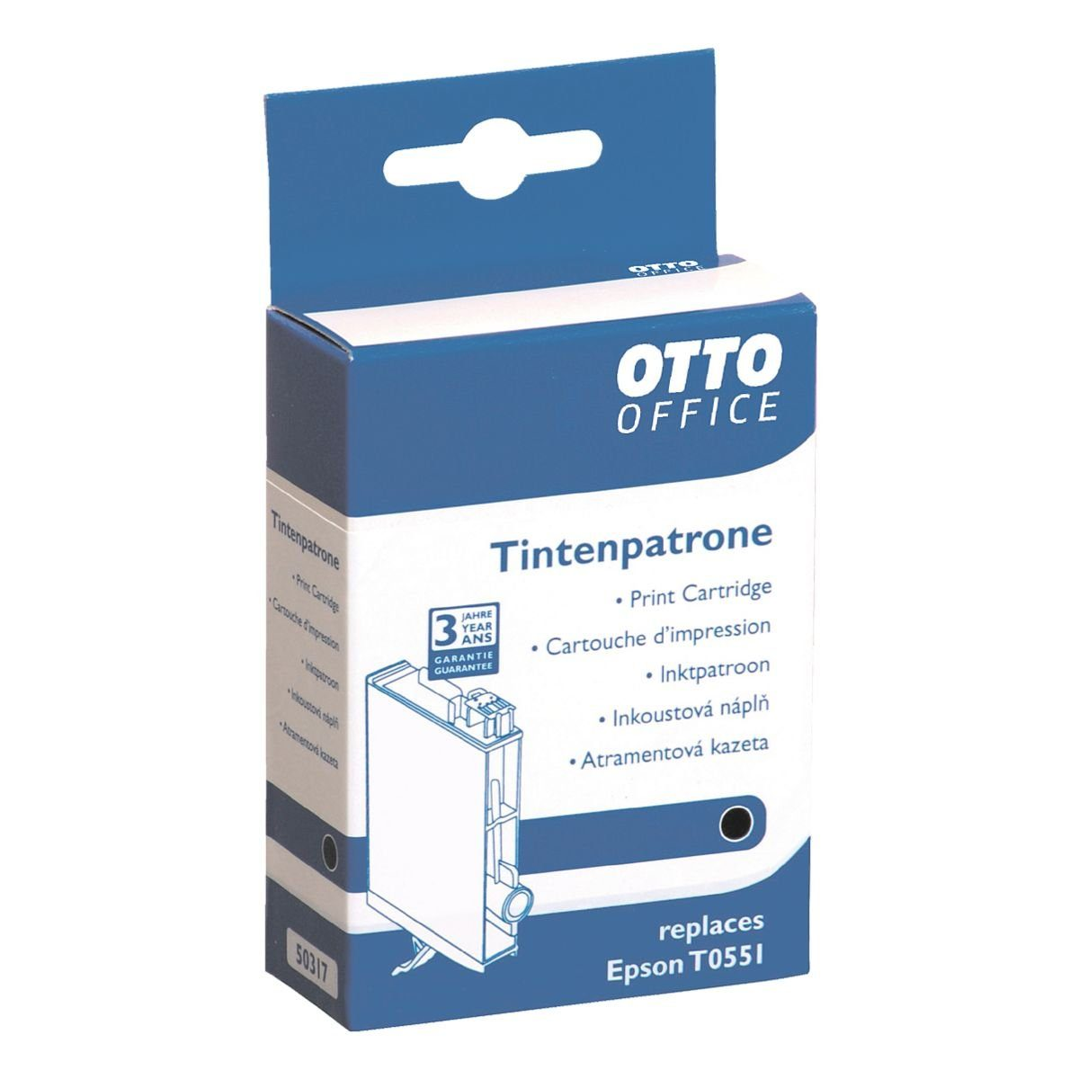 OTTO Office Standard Tintenpatrone ersetzt Epson »T0551«