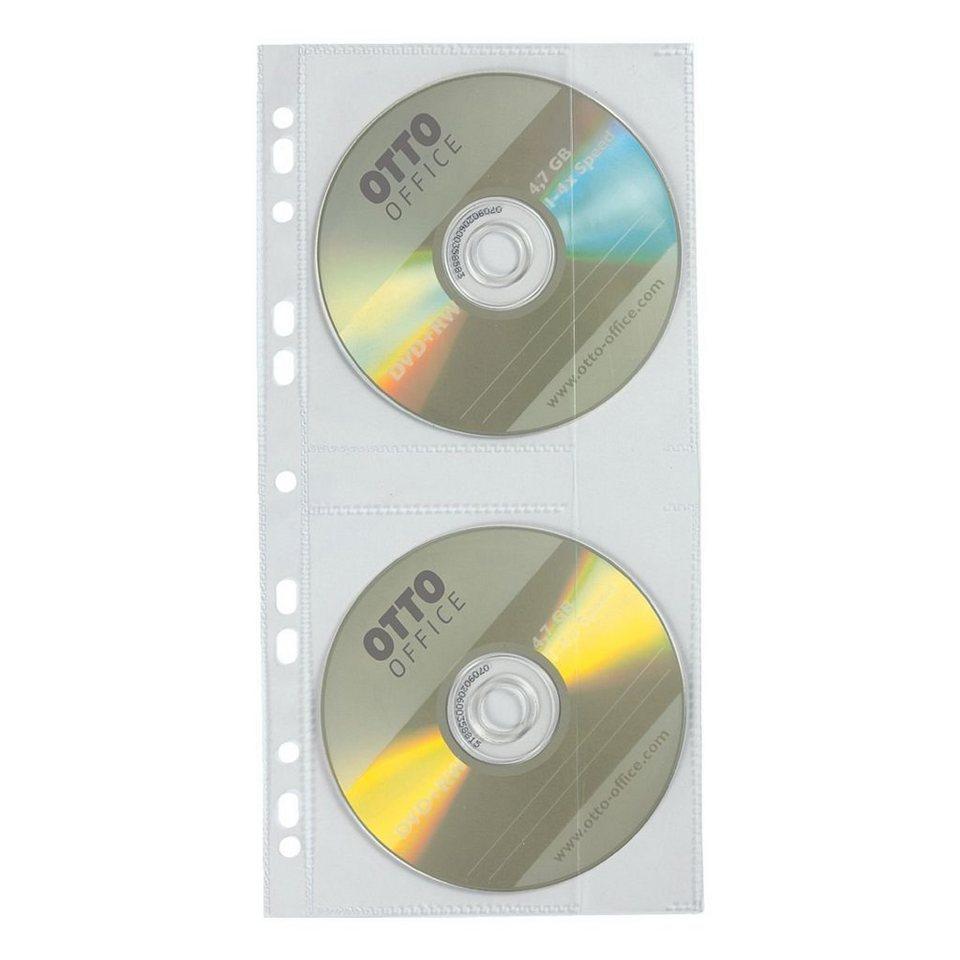 OTTO Office Standard CD/DVD/Blu-ray-Schutzhüllen