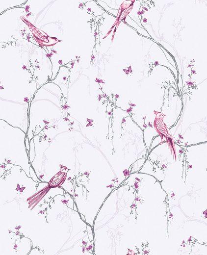 Vliestapete »Birdies«, 1000 cm Länge