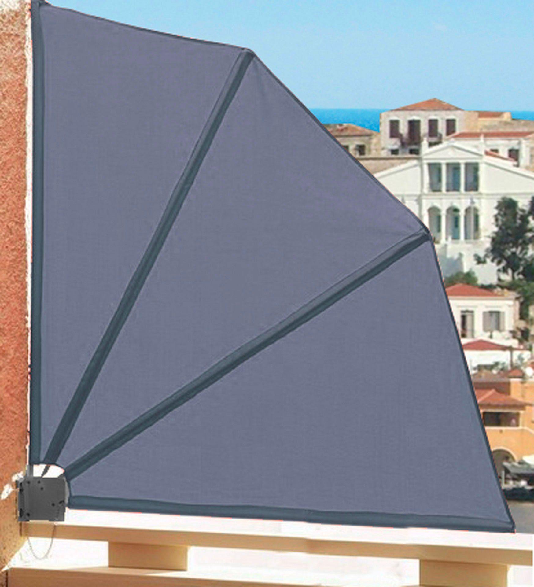 QUICK STAR Balkonsichtschutz »Fächer«, BxH: 140x140 cm