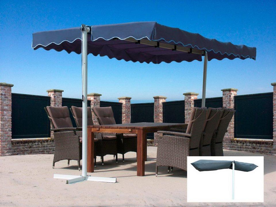 quick star set standmarkise dubai bxtxh 375x225x220 cm inkl schutzh lle online kaufen otto. Black Bedroom Furniture Sets. Home Design Ideas
