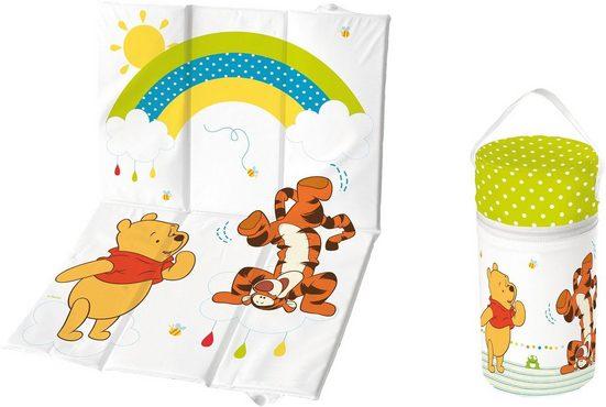 keeeper Wickelauflage »Winnie the Pooh« (2-tlg), Kinderpflege-Set best. aus Wickelunterlage und Isoliertasche
