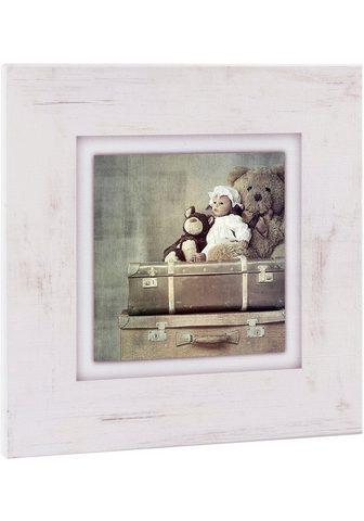 HOME AFFAIRE Paveikslas »Kuscheltiere ant Koffer«