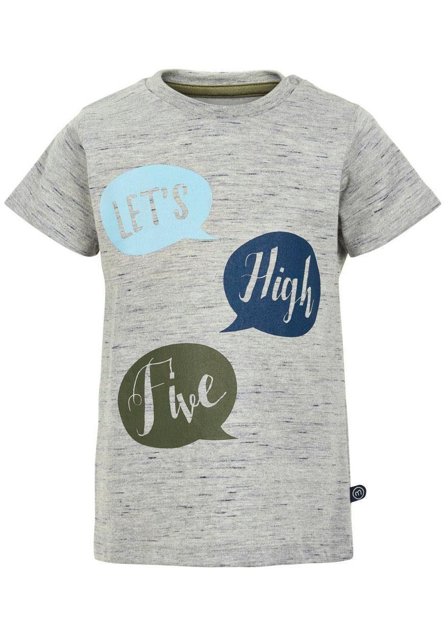 Minymo T-Shirt mit farbigen Drucken
