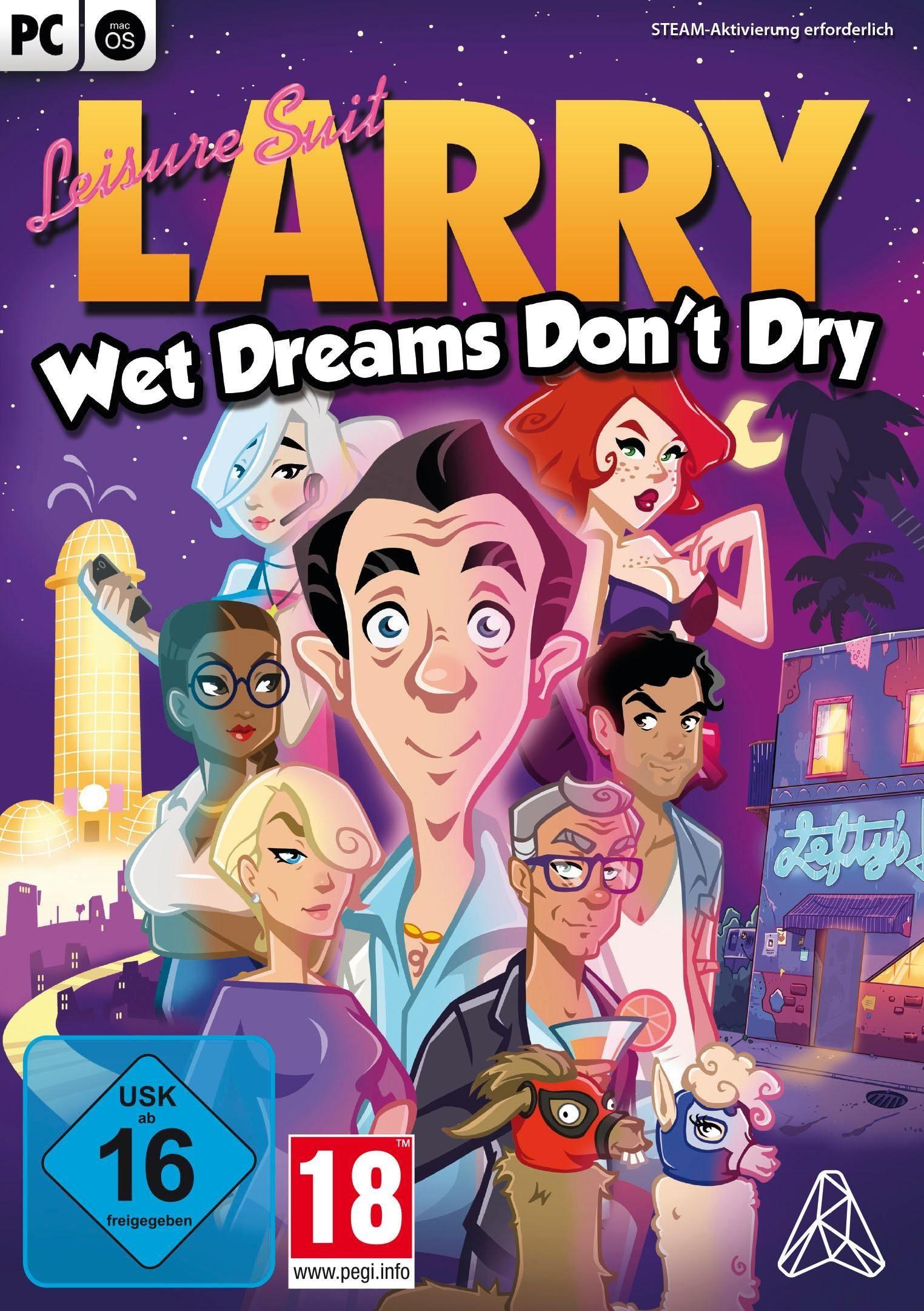 Leisure Suit Larry: Wet Dreams Don't Dry PC, Software Pyramide