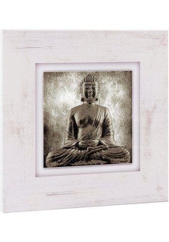 HOME AFFAIRE Paveikslas »Sitzender Buddha«
