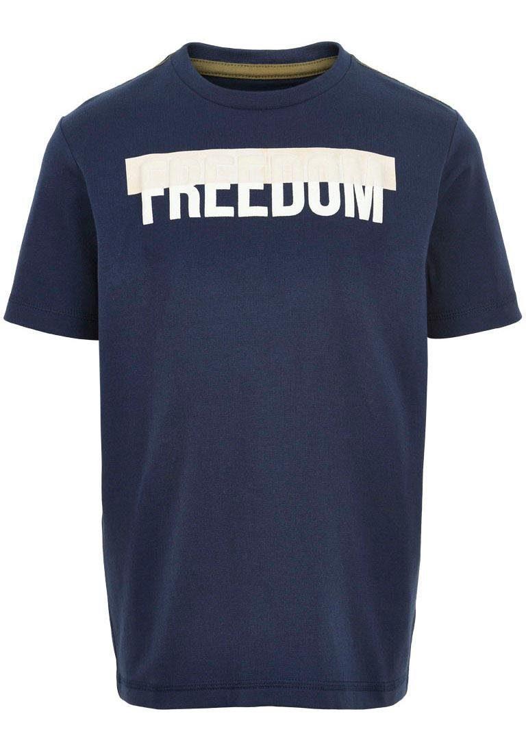 Minymo T-Shirt mit Druck vorn