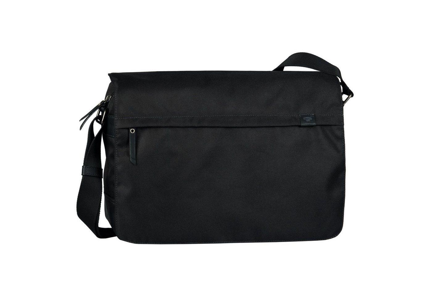 TOM TAILOR Messenger Bag »Simon«, mit Tabletfach | Taschen > Business Taschen | Schwarz | TOM TAILOR
