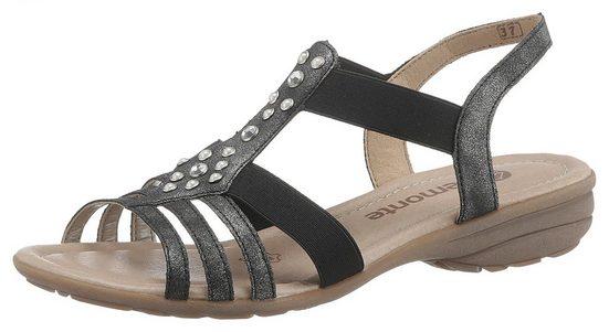Remonte Sandale mit schönen Zierperlen