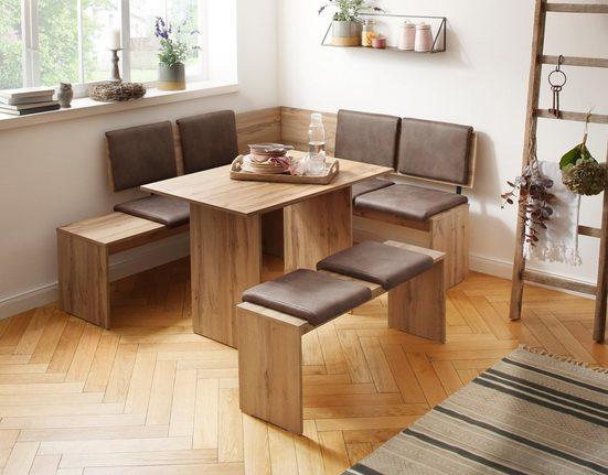 Home affaire Eckbankgruppe »Essen«, (Set, 3-tlg)