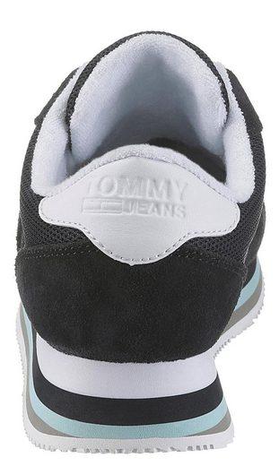Farblichen Akztenten Mit 4c« »lagoon Plateausneaker Jeans Tommy B4Sqg7