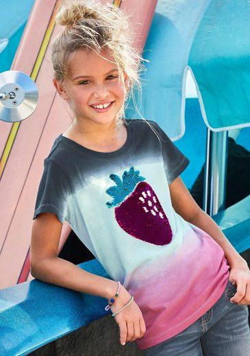 Arizona T-Shirt mit Wendepailletten