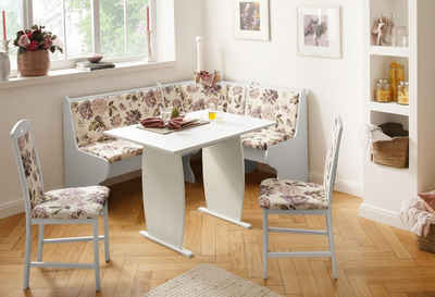 home affaire essgruppenset 4tlg minden 3 im rustikalen landhausstil